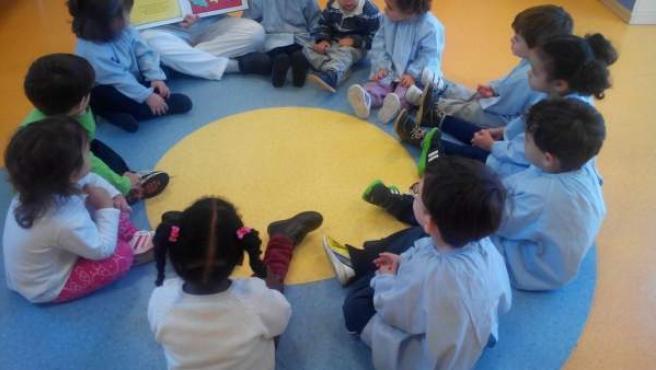 Niños en un centro de Educación Infantil.