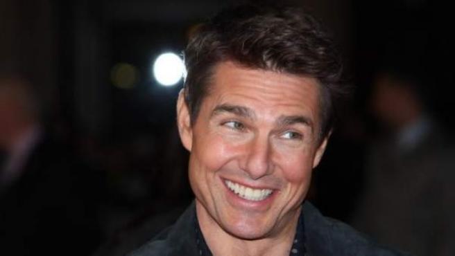 Tom Cruise, en Lodres durante la premier de la película Jack Reacher.