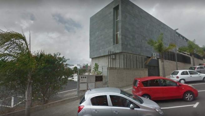 Vista de la Escuela de Idiomas de La Laguna.