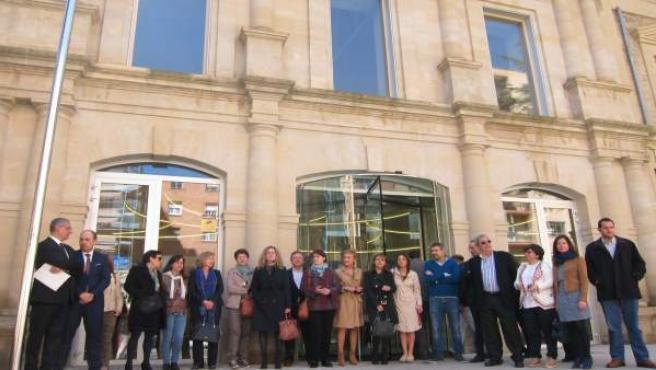 Concentración Letrados Palacio Justicia La Rioja