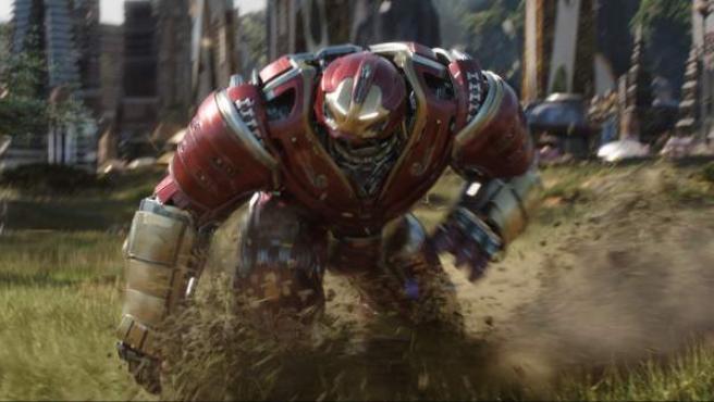 Iron Man en una escena de 'Vengadores: Infinity War'.