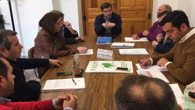 Reunión del PP con FAEM