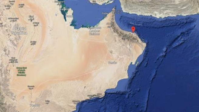 <p>Imagen de Muscat, la capital de Omán.</p>
