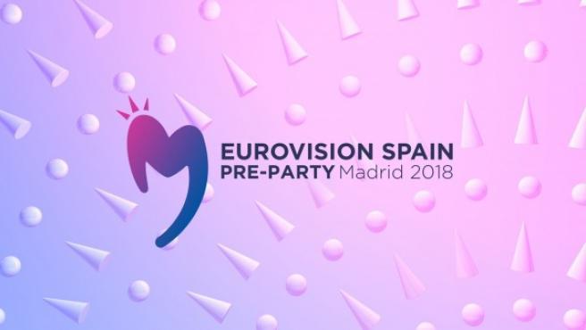 Cartel de la Eurovision Spain Pre-Party 2018.