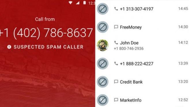 Apps contra el spam telefónico.