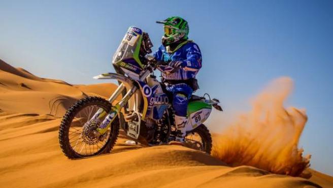 Tras completar el Rally Mergouza, el objetivo de Daniel Albero es competir en el Dakar 2019.