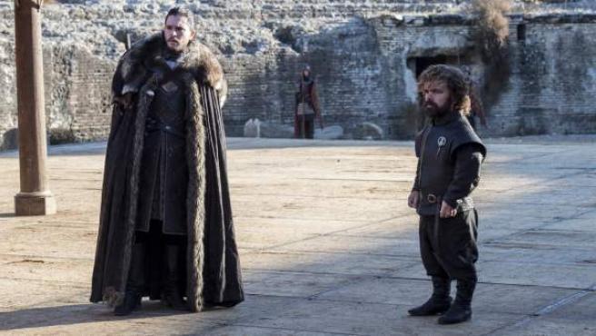 """Una escena del capítulo 7 de la temporada 7 de 'Juego de Tronos', llamado """"El dragón y el lobo""""."""