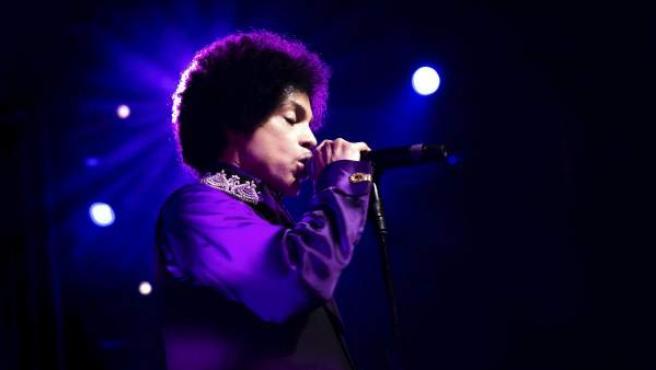 Prince, en el Festival de Jazz de Montreux, en Suiza, en junio de 2013.