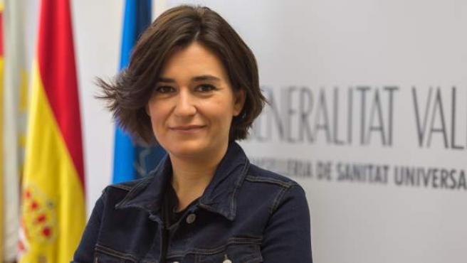 Carmen Montón, consellera valenciana de Sanidad Universal y Salud Pública.