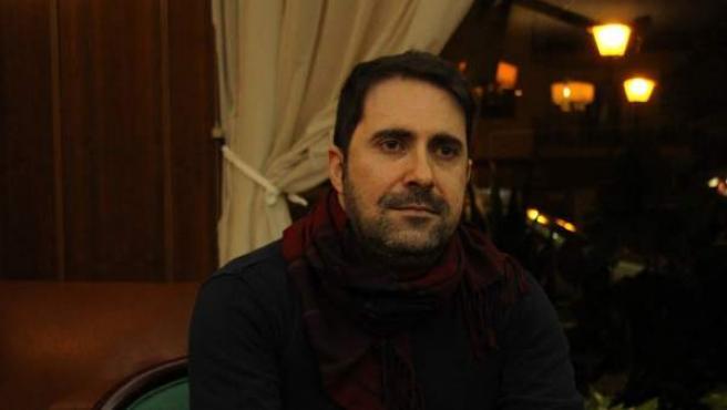 Álvaro González, paciente de hemofilia.