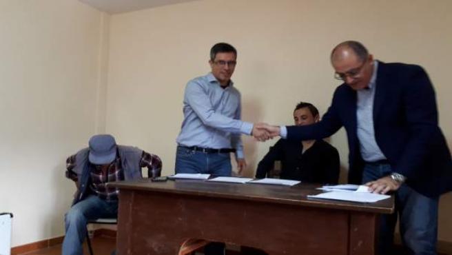 Ángel Canales nuevo alcalde de Prádena de Atienza