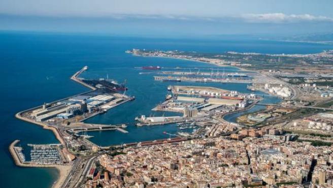 Imagen aérea del Puerto de Tarragona