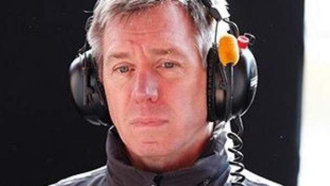 Tim Goss, director técnico de McLaren.