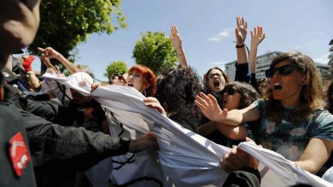 Protesta por la sentencia de La Manada.