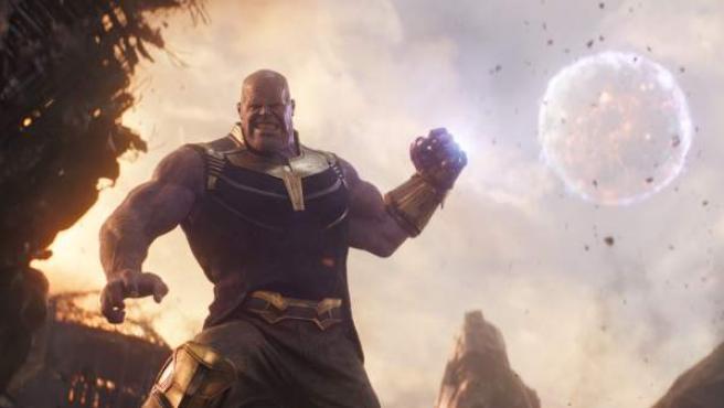 Thanos es el gran villano de 'Vengadores: Infinity War'.