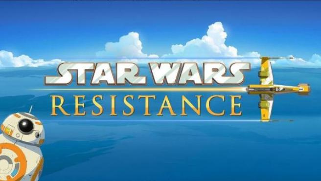 Cartel de la serie 'Star Wars The Resistance'