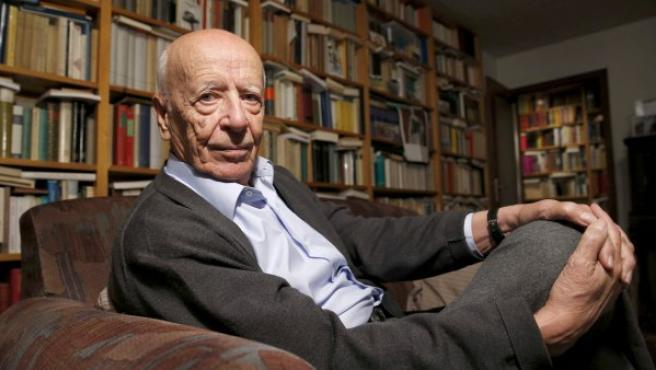 Fotografía de noviembre de 2014 del filosofo, humanista y académico Emilio Lledó.