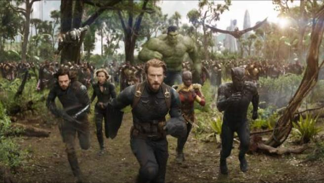 Fotograma de 'Vengadores: Infinity War', dirigida por Joe Russo y Anthony Russo.