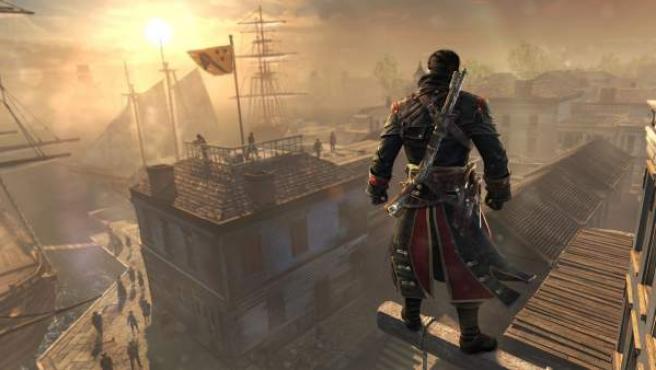 Una escena de los videojuegos de Assasins Creed.