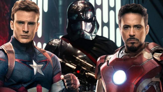 'Star Wars' felicita a Marvel por su récord como mejor estreno