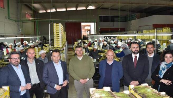 Horticultores el Torcal Ruiz Espejo visita la fábrica