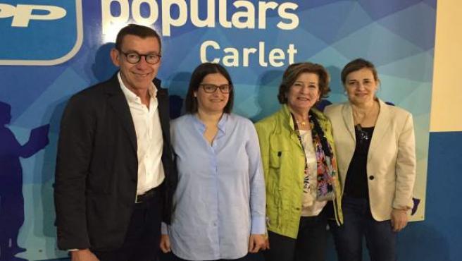 Rueda de prensa del PPCV sobre el Hospital de La Ribera