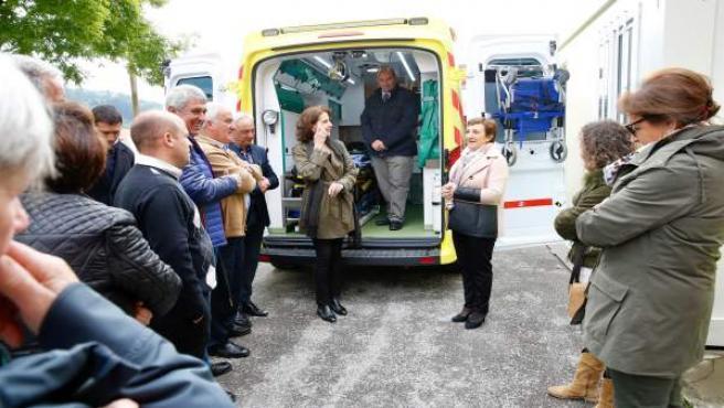Nuevo servicio transporte sanitario con base en La Serna