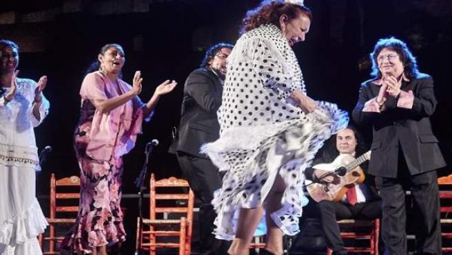 Espectáculo, flamenco, sabor a Málaga, bienal, cante, baile, jondo