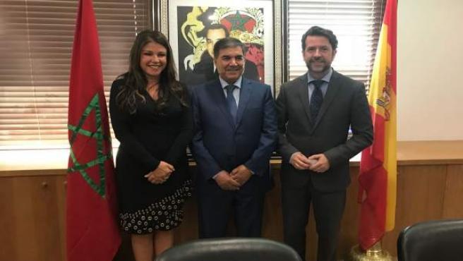 Visita de Alonso a Marruecos