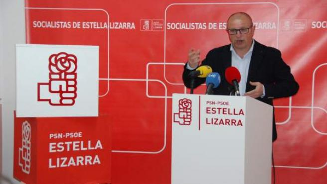 Carlos Gimeno, parlamentario del PSN