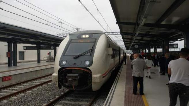 Nueva estación de trenes de Huelva.