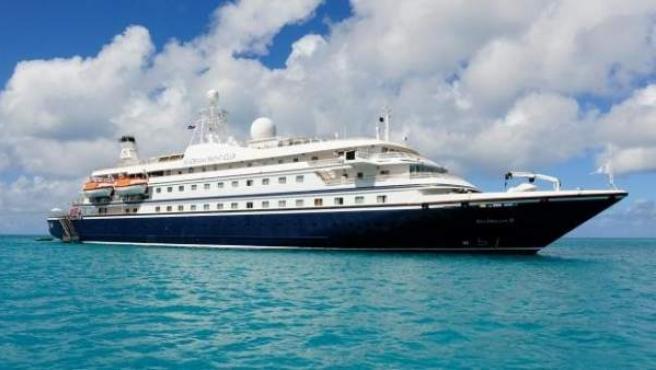 El crucero Seadream II