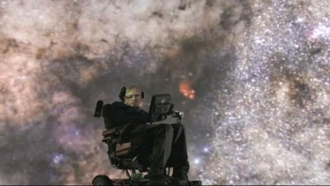 Stephen Hawking en Cambridge.