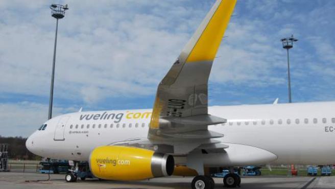 Un avión de Vueling, en una imagen de archivo.