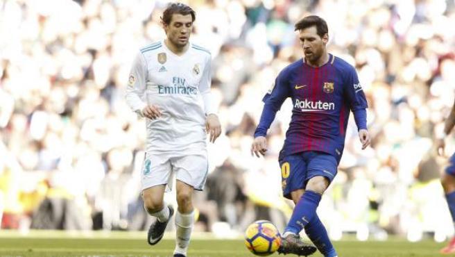 Messi, en el último Real Madrid-Barça, el pasado 23 de diciembre en el Santiago Bernabéu.