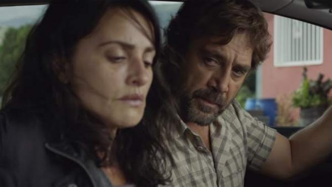 Penélope Cruz y Javier Bardem en 'Todos lo saben'.