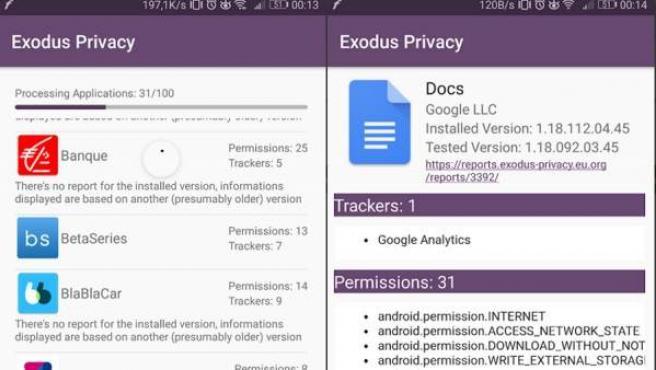 Capturas de pantalla de Exodus.