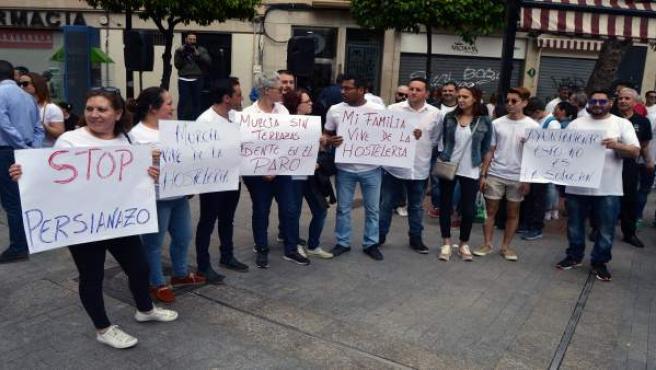 Concentración silenciosa en Murcia