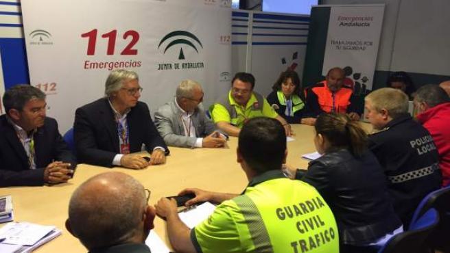 Reunión del plan por el Gran Premio de Jerez de motociclismo