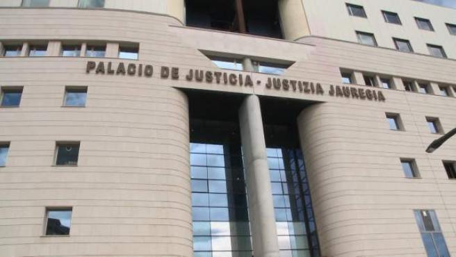 Imágenes de los juzgados de Pamplona
