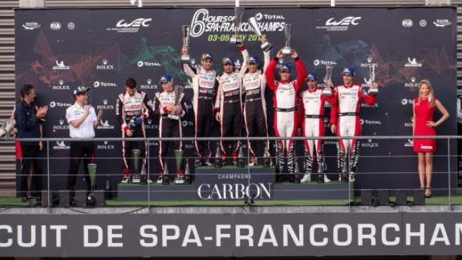 El equipo Toyota consiguió un doblete en las 6 horas de Spa.