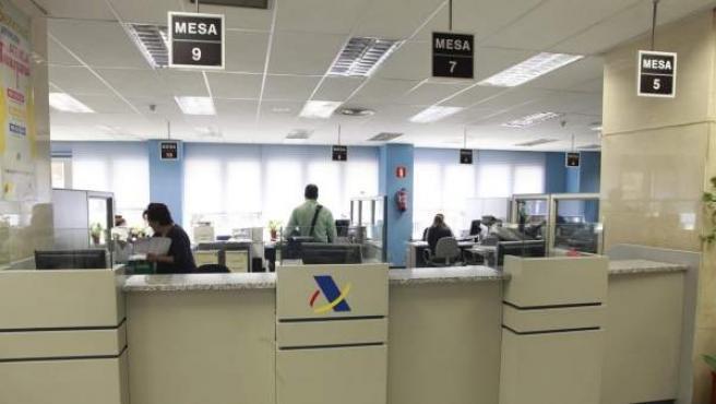 Oficinas para presentar la Declaración de la Renta.