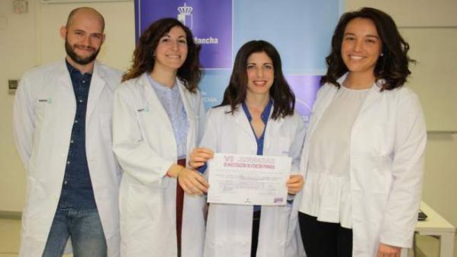 Médicos toledanos ganadores del certamen