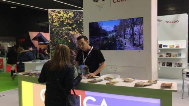 Estand de Cuenca en 'Expovacacional'