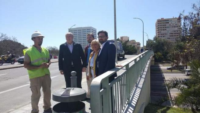 Las obras de mejora del Puente de las Américas se centran en el tablero desde este martes