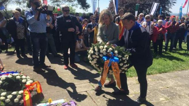 Ximo Puig rinde homenaje a los valencianos y españoles asesinados