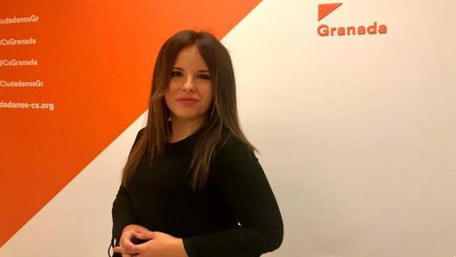 La concejal de Cs en el Ayuntamiento de Granada Lorena Rodríguez