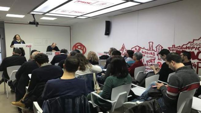 Reunión del PSOE de Menorca