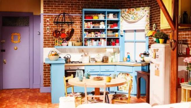 Recreación del apartamento de Monica en la serie 'Friends'.