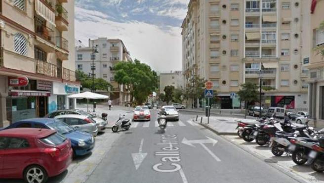 Imagen de la calle Inca de Fuengirola, Málaga.
